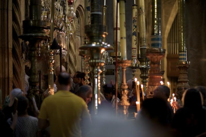 Anastasis: Eingang zur Grablege Jesu