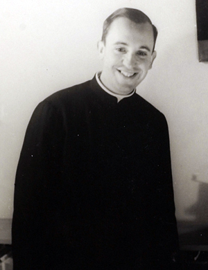 Foto des jungen Pater Bergoglio