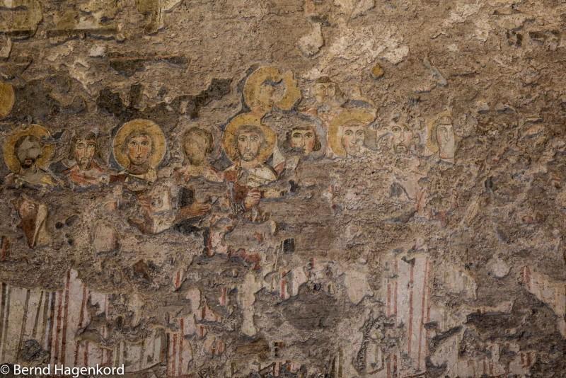 Heilige - Fresko in Santa Maria Antiqua