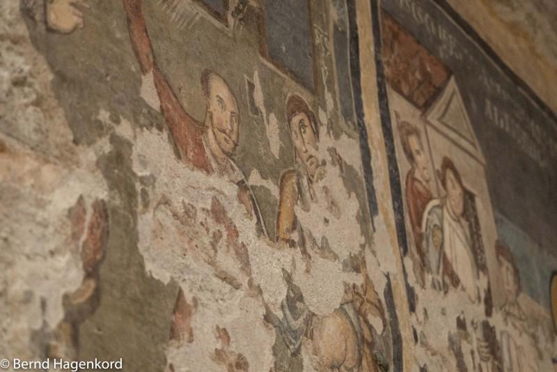 Fresko in Santa Maria Antiqua