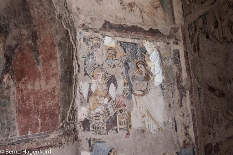 Fresken in Santa Maria Antiqua