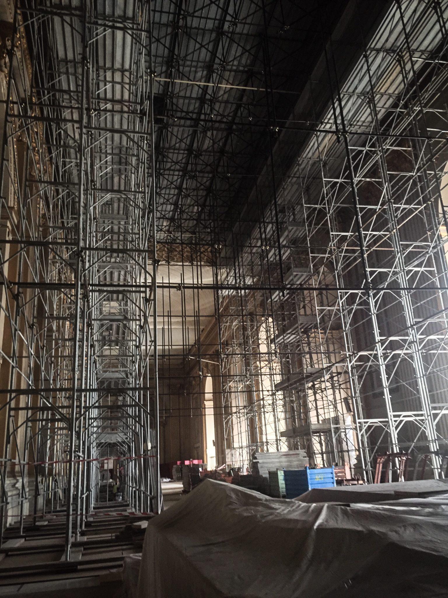 Ist das nun Erneuerung oder Bewahrung? Sala della Benedizione, Vatikan