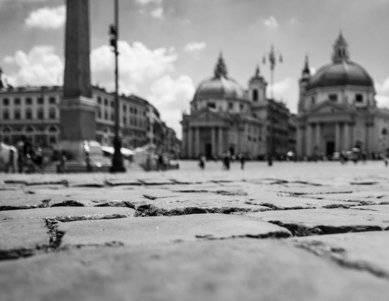 Man spricht Italienisch: Die Piazza del Popolo, einer der schönsten Plätze der Welt
