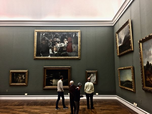 Blick auf den Menschen: Zwei Gemälde in der Neuen Pinakothek München