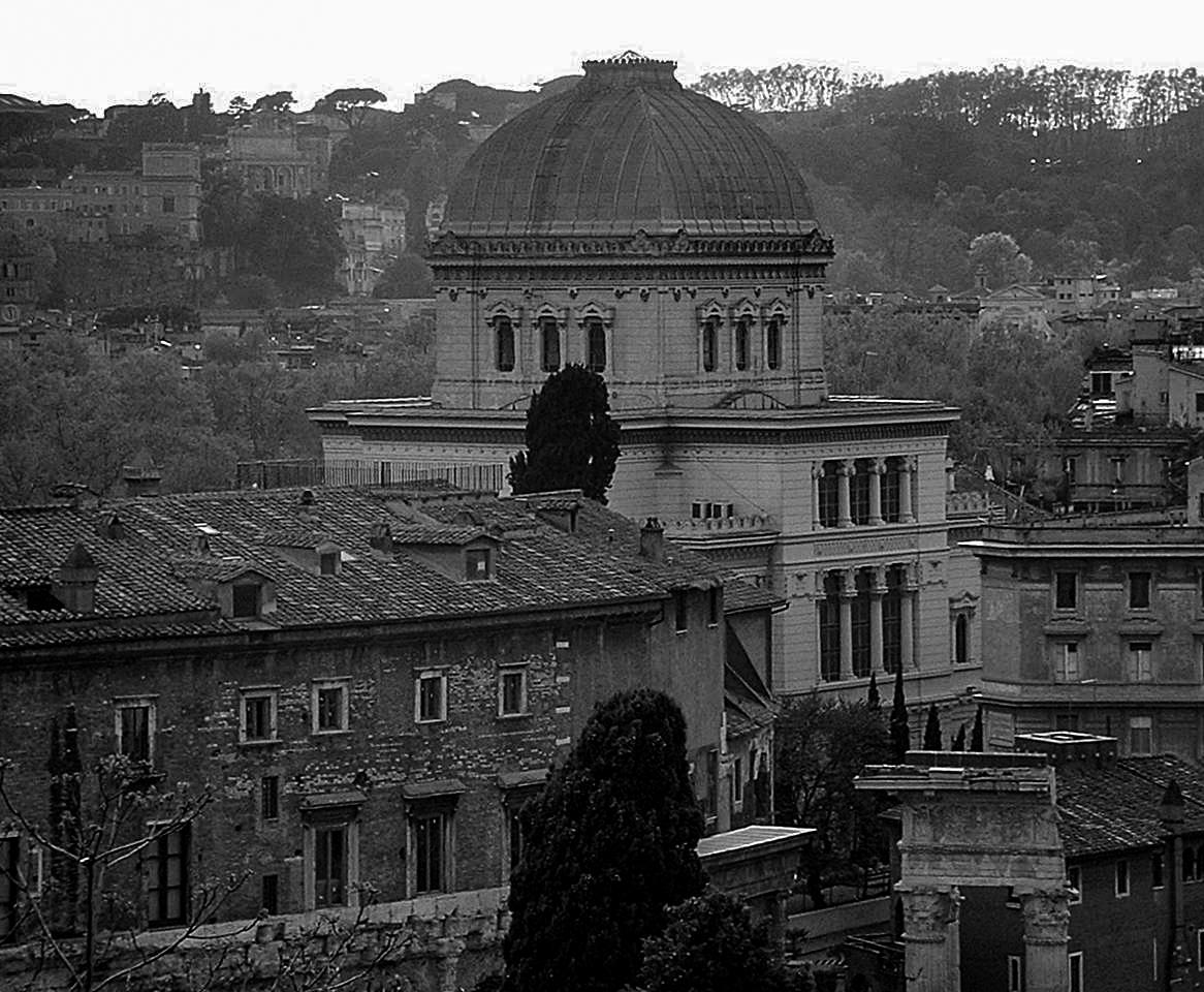 Die große Synagoge hier in Rom