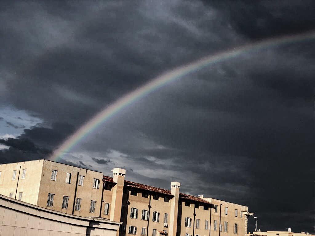 Vorsicht mit Wetter-Metaphern, aber dieses Foto war einfach zu verlockend