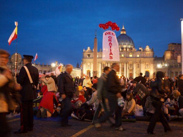 Religion im Journalismus: Seligsprechung Johannes Paul II., am 1. Mai 2011