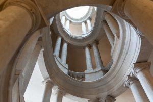 Barock in der Religion: die Treppe iim Palazzo Bernini