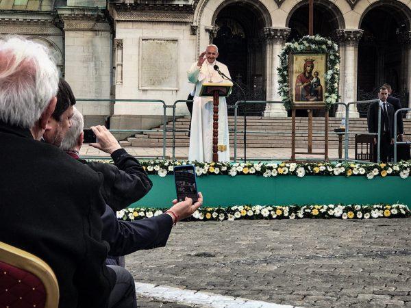 Ein politischer Papst