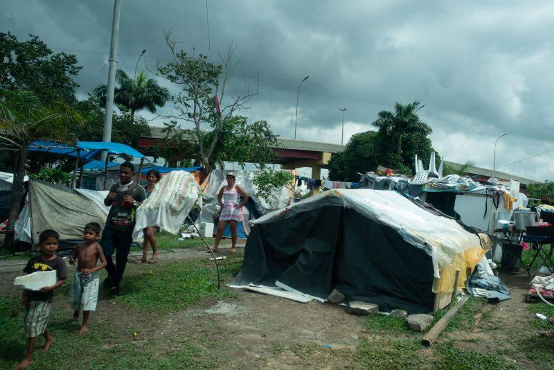 Flüchtlinge in Manaus