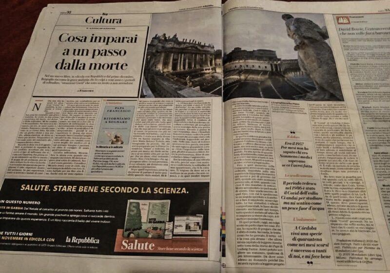 Papstbuch zu Corona